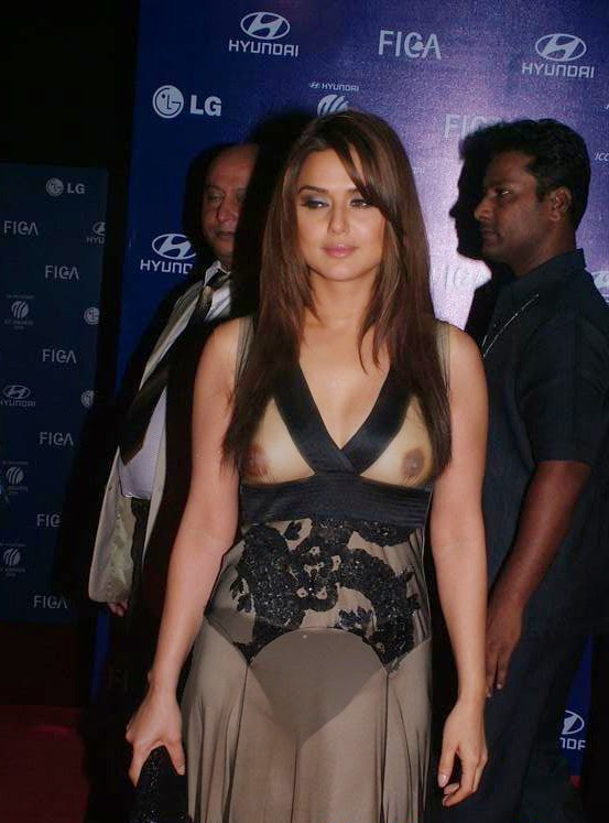 Priety Zinta Nipple and Panty Visible Hottest Wardrope Malfunction xxx