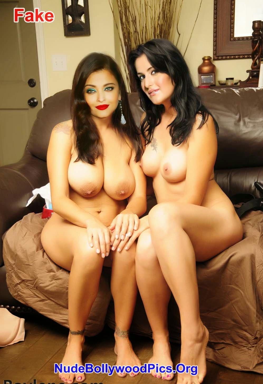 Aishwarya Rai & Katrina Kaif Nude With Big Boobs Lesbian Sex