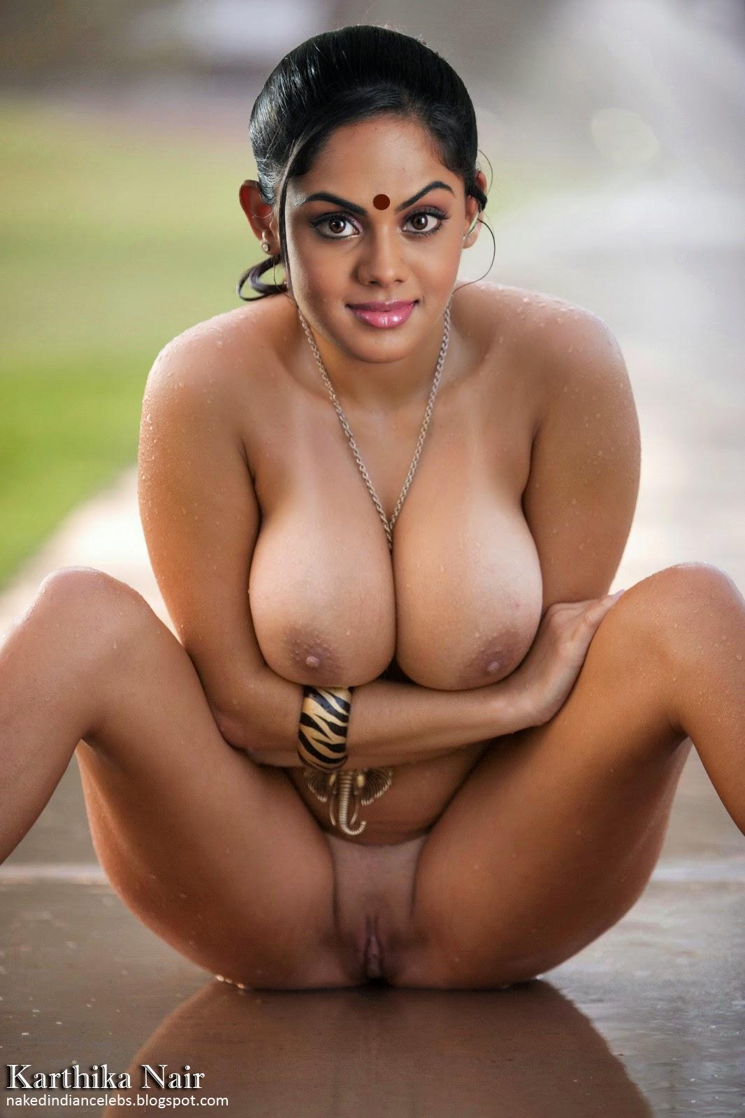 Actress Karthika Nair's Nude Movie Item Song in Airport