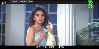 Bollywood Madhuri Dixit n Pooja Bhatt sexy song Prem Deewane