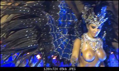 X Rated babes dancing topless in the RIO carnival