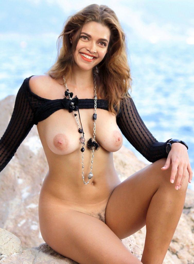 Naked legs Deepika Padukone open boobs sexy nipple nude beach leaked photo