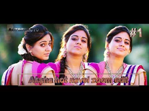 Aksha pardasany hot navel zoom edit, Bolly Tube
