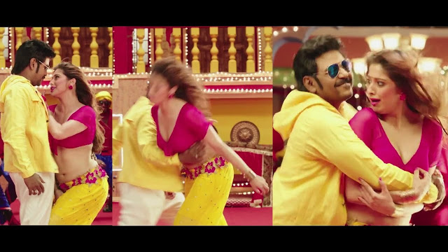 Hot Lakshmi Rai boobs squeezed by lawrence ultra slow motion HD