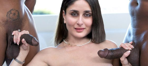 Kareena Kapoor handjob naked actress shacking black cock