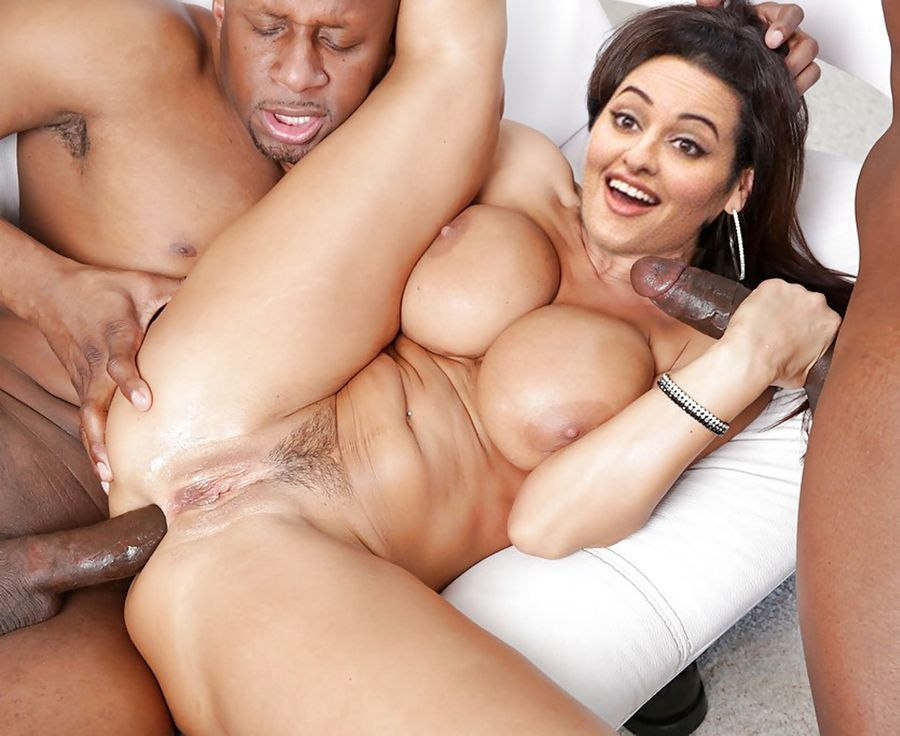 Black cock fucking Sonakshi Sinha ass hole nude handjob
