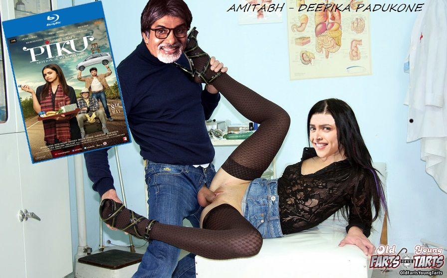 Amitabh Bachchan fucking Deepika Padukone pussy in piku xxx deleted scene