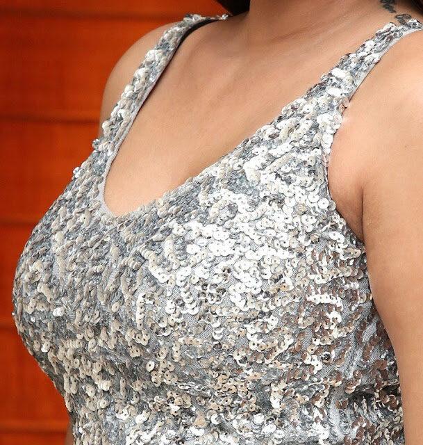 Sharon Fernandes busty boobs sleeveless blouse naked shoulder xxx