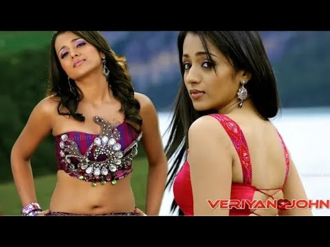 Sexy Trisha Krishnan deep navel cleavage | sexy cleavage compilations | sexy actress