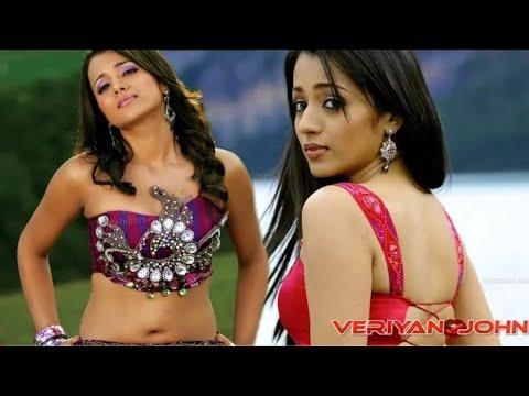 Sexy Trisha Krishnan deep navel cleavage | sexy cleavage compilations | sexy actress
