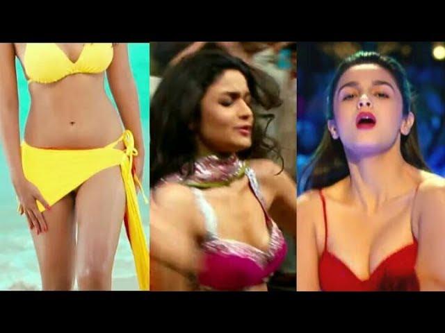 Alia Bhatt Hot B00bs Show Slow Mtion Video | Vertical Edit