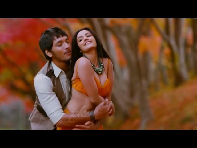 Priya Anand Hot B00BS Show In Orange