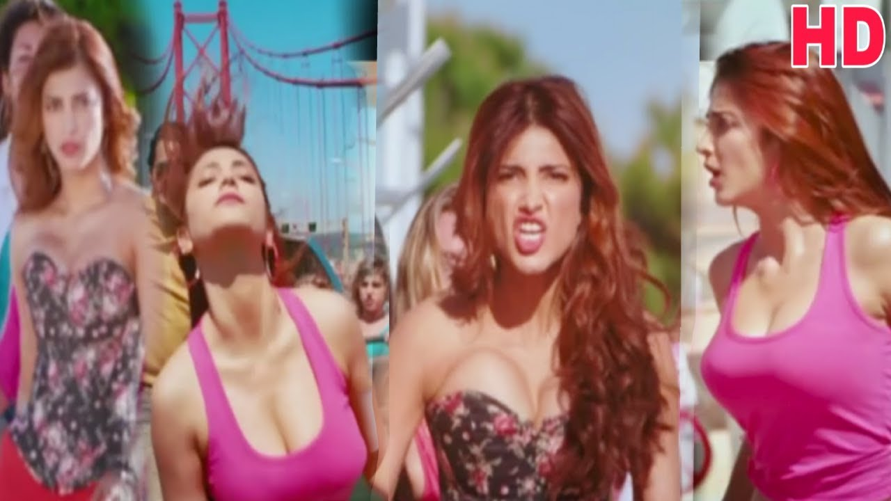 Shruti Haasan Hot Bouncing Boobs Scene
