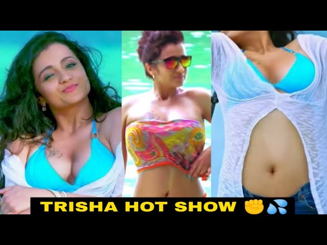 Trisha Hot Boobs Structure | Trisha Hot Show
