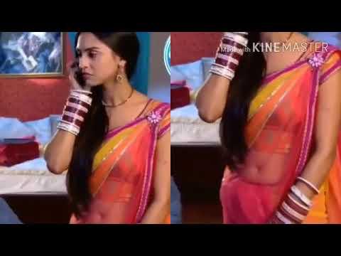 Serial Actress  saree  edit | sexy navel | navel cleavage | saree navel | transparent saree navel