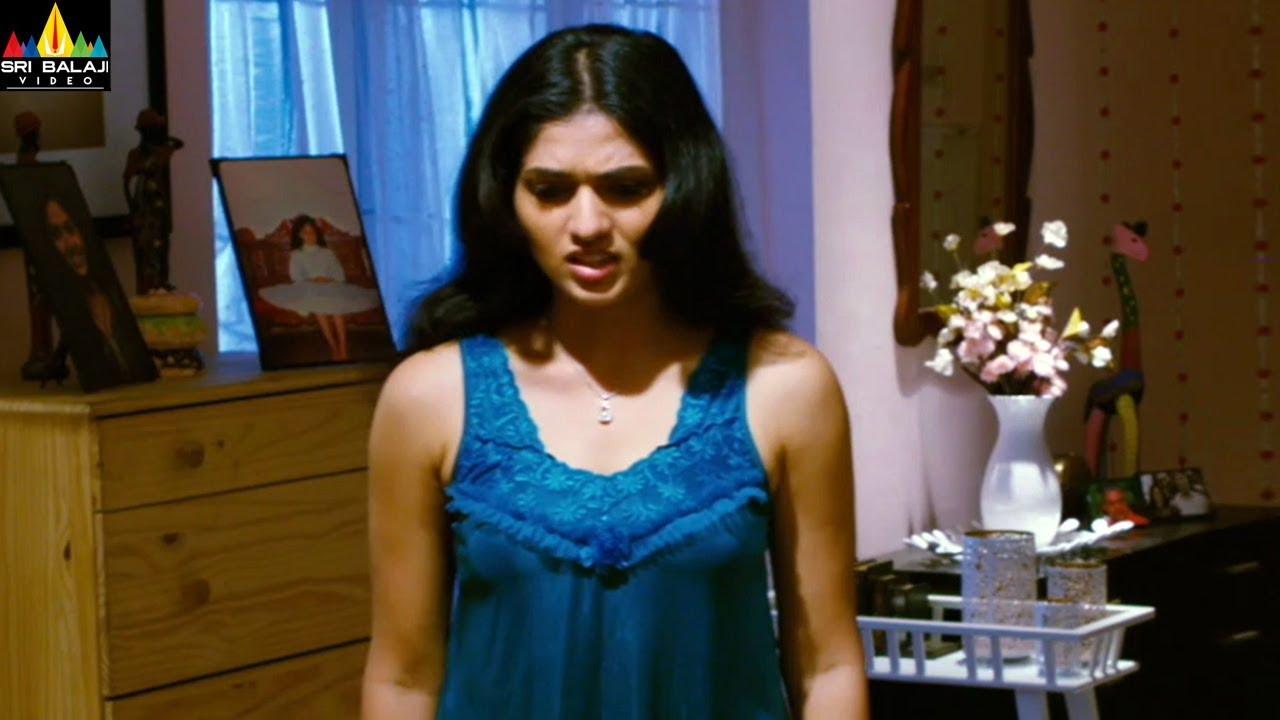 Sunaina Hot Back Scene | Sunaina Hot Shock Expressions