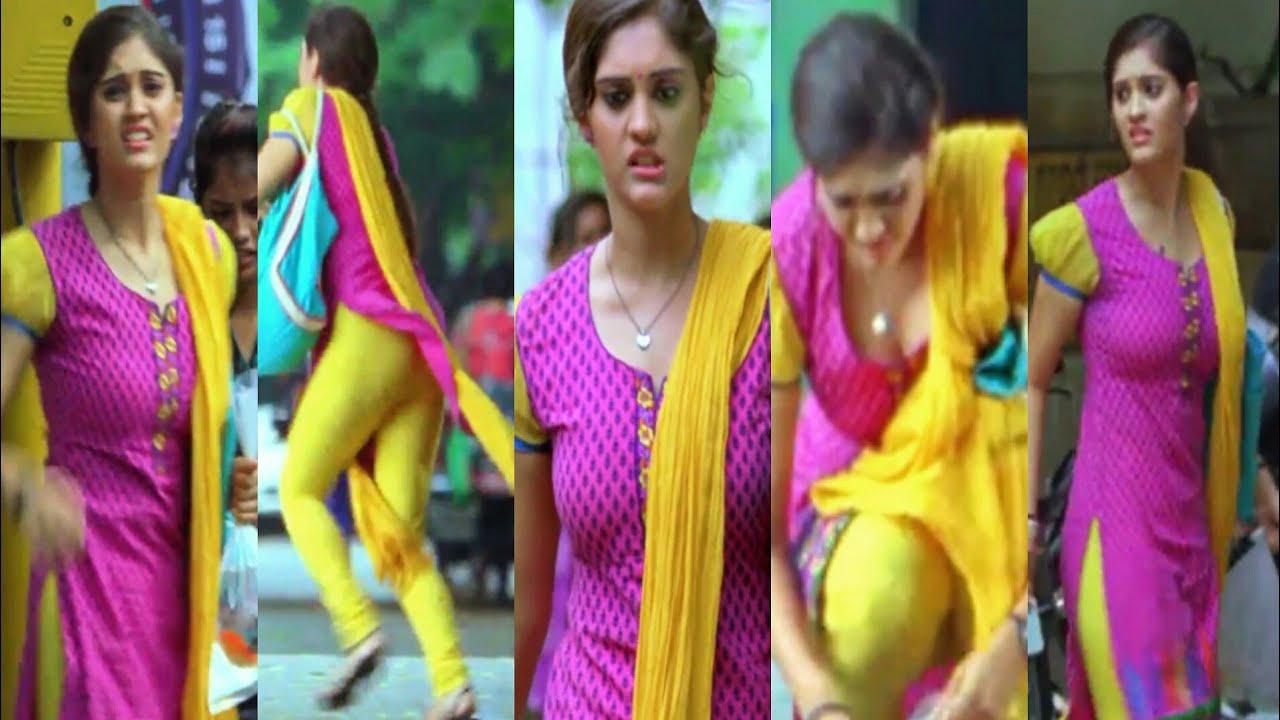 Surabhi Hot Cleavage & Ass Scene