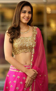 RASHI KHANNA BEAUTY IN SAREE