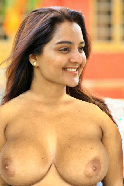 Manju Warrior Nude xxx mallu boobs and nipple without bra photo