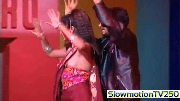 Anjala Jhaveri Boob slip Nipple visible slowmotion video