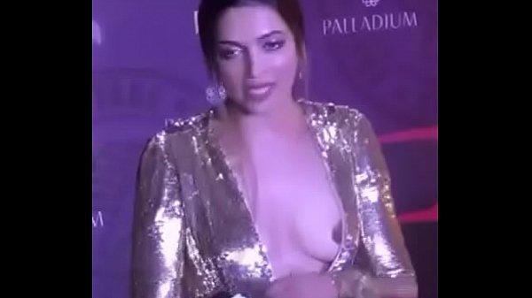 Deepika Padukone nipple slip small boobs video