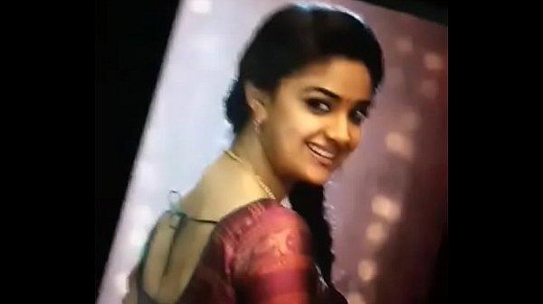 Keerthi suresh cum tribute moaning and cum fascial for keerthi